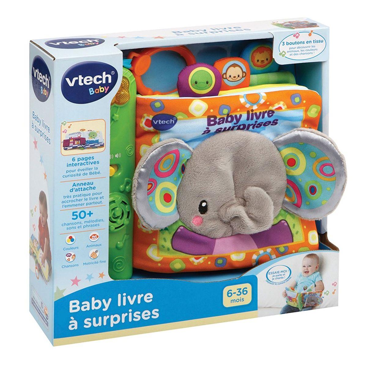 Livre Interactif Baby Livre A Surprises Jouets D Eveil