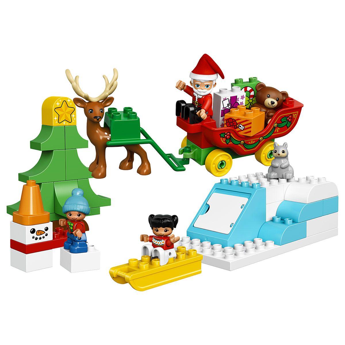 Duplo Noel Les vacances d'hiver du Père Noël LEGO Duplo 10837   Noël et