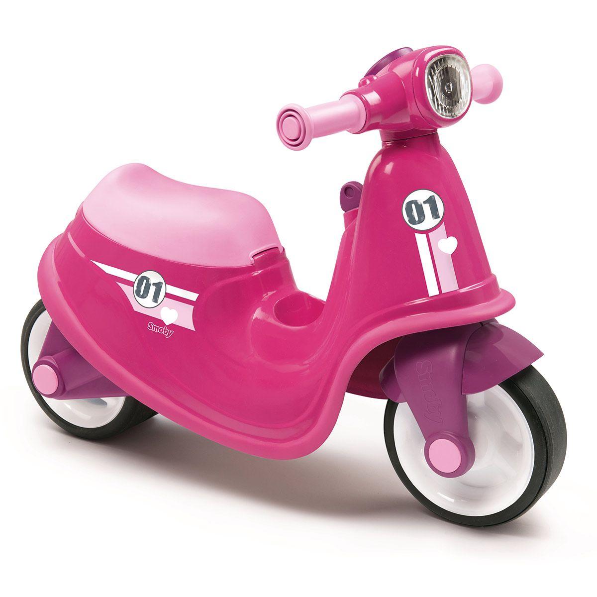 Porteur scooter rose - Jouets d'éveil et