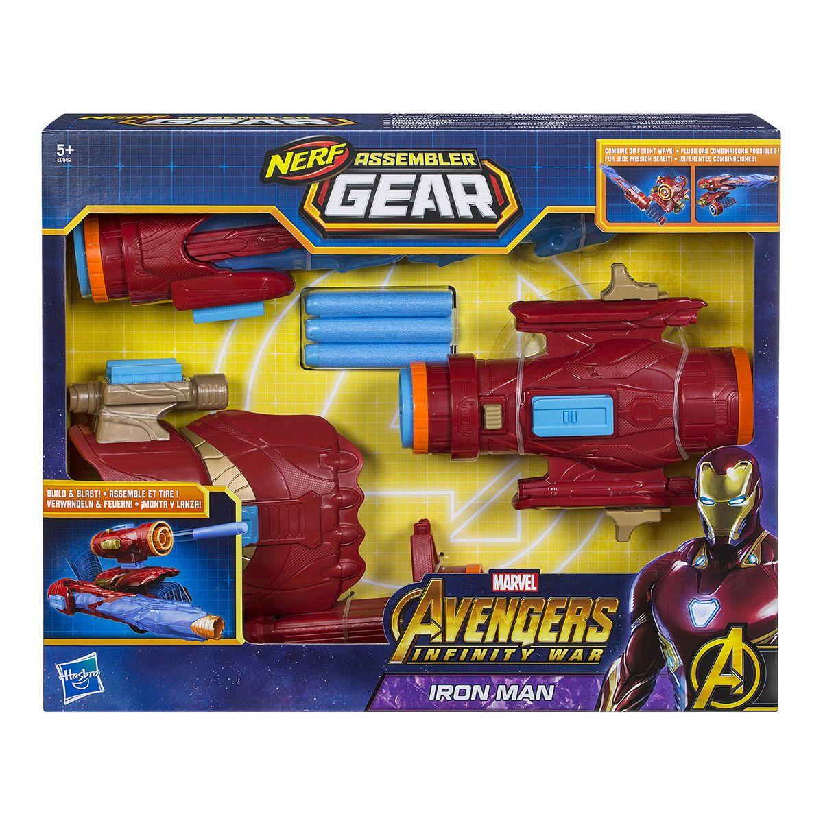 Jeux Tir Gant Avengers Infinity De Et Iron Man Assembler Gear 8nO0wPk