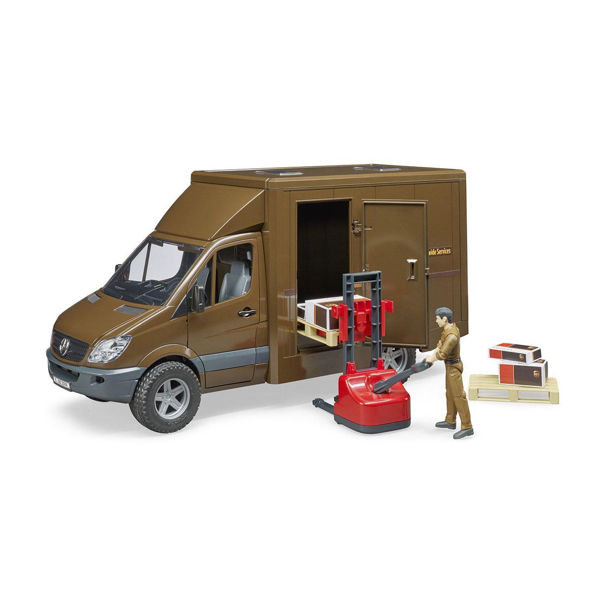 Camion De Transport Ups Mb Sprinter Petites Voitures Et