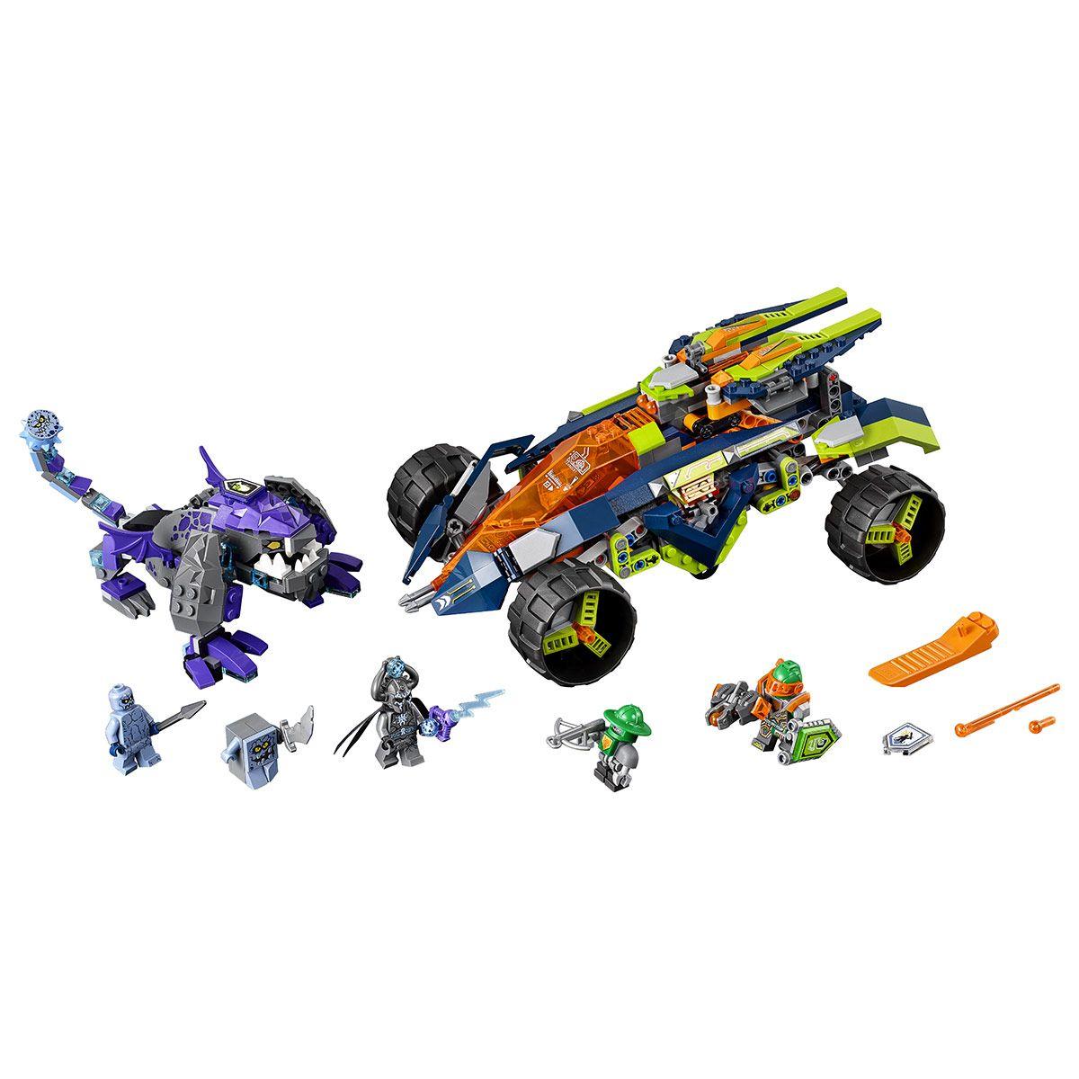 Nexo Le Turbo Knights D'aaron 70355 4x4 Lego® PiratesChevaliers nwPk8NO0XZ