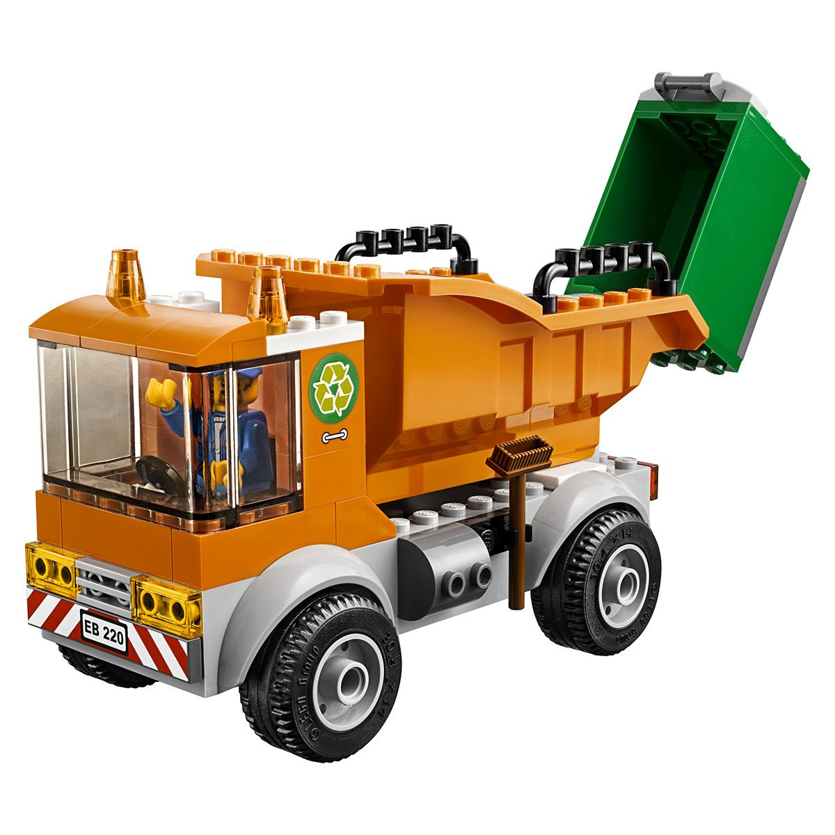 Camion De Chantier Lego Travaux Et Poubelle 60220 City La Le E2IYHWD9