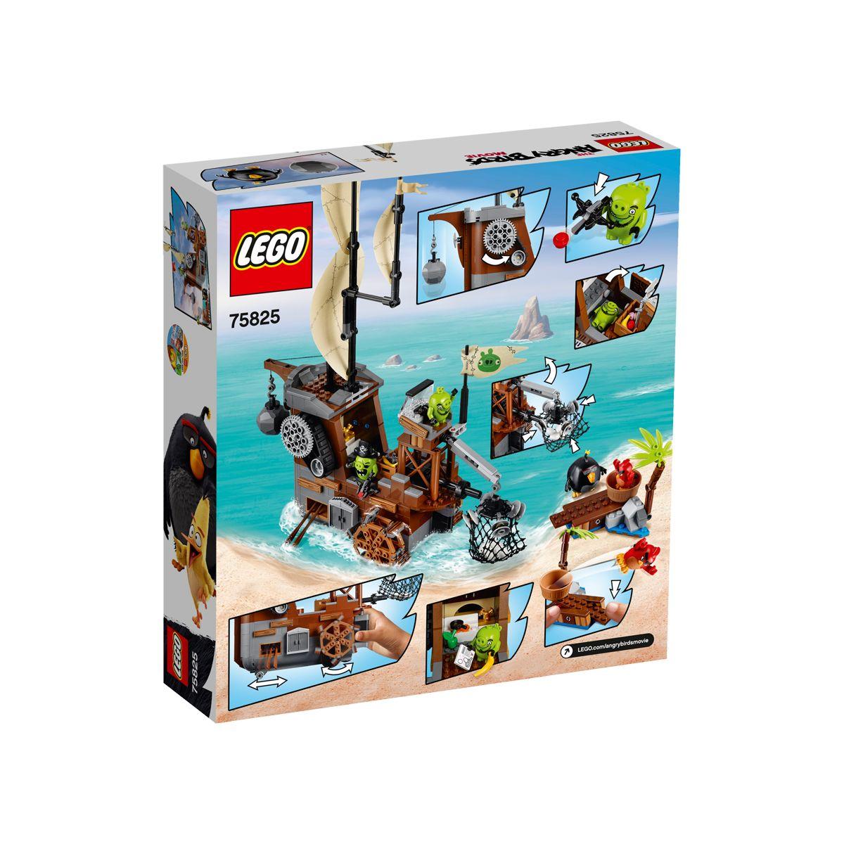 Du Cochon Angry Pirate Birds Le Lego® Bateau CodWxreB