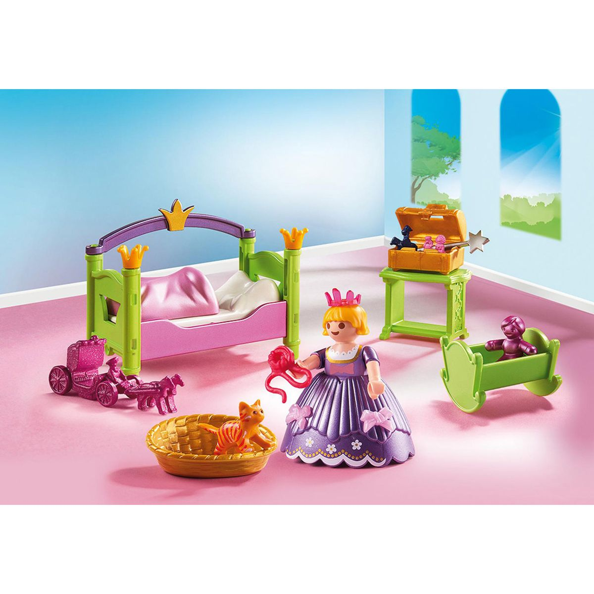 Chambre de princesse Playmobil Princess 6852 - Les ...