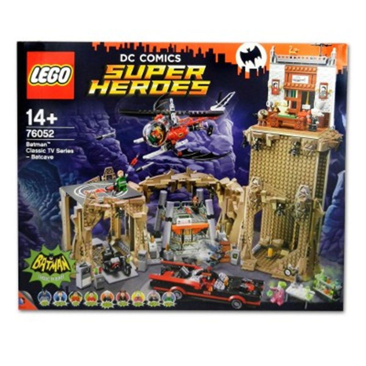 Lego T1cjlfk Super 76052batman Batcave Heroes La Héroscinéma shxroQtdCB