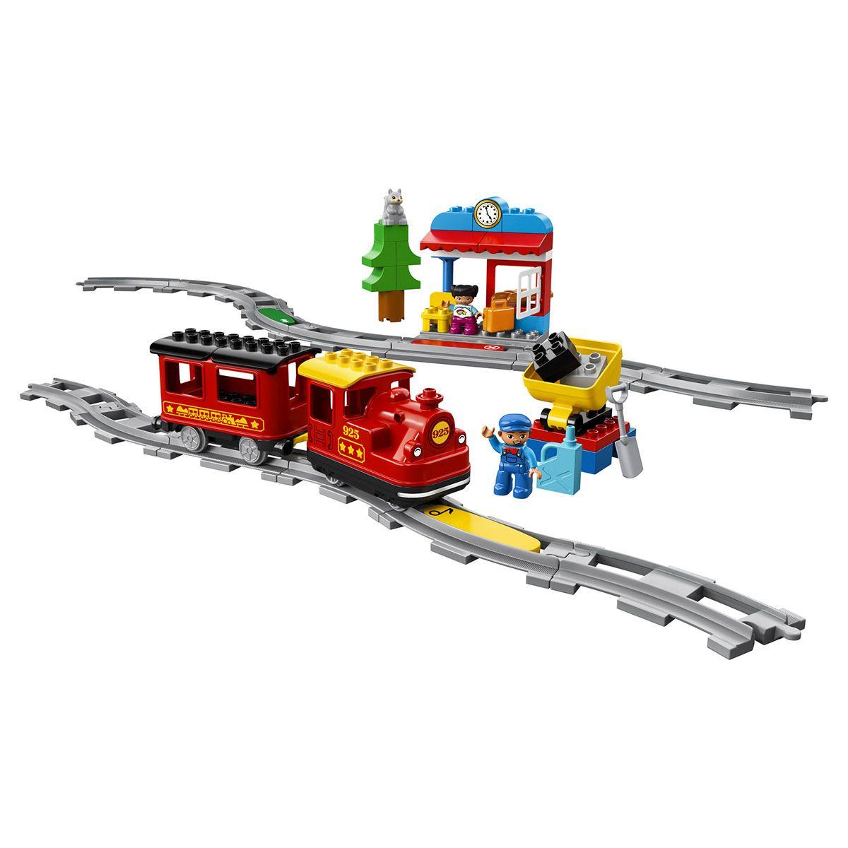 Duplo Jeux De Le La 10874 À Train Vapeur Lego Construction K1FJlc