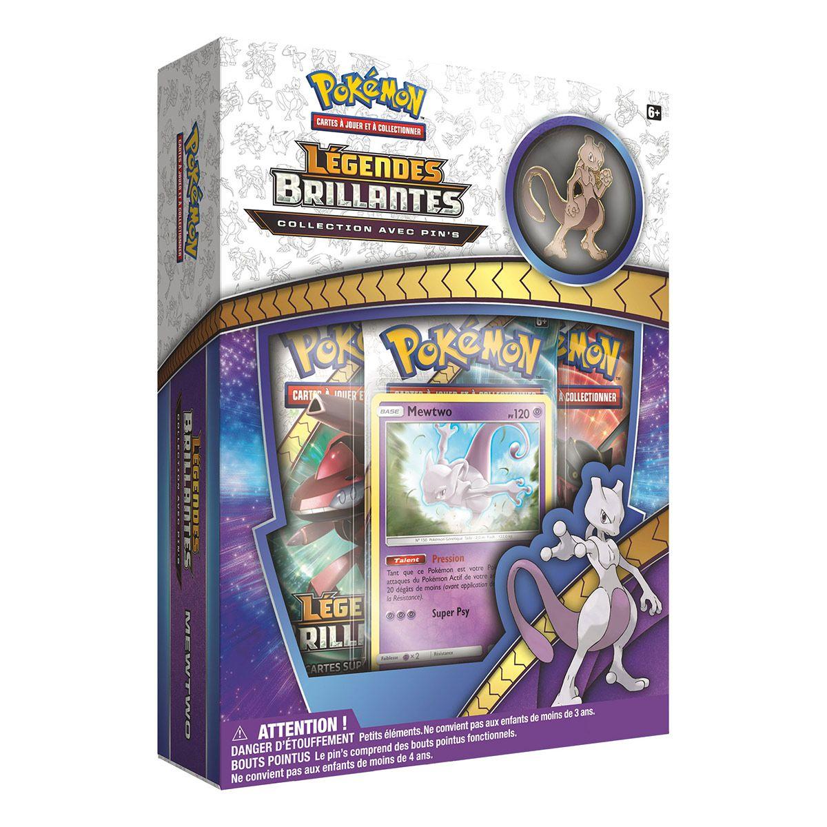 Coffret Pokémon 35 Mewtwo Jeux De Société Et Puzzles La