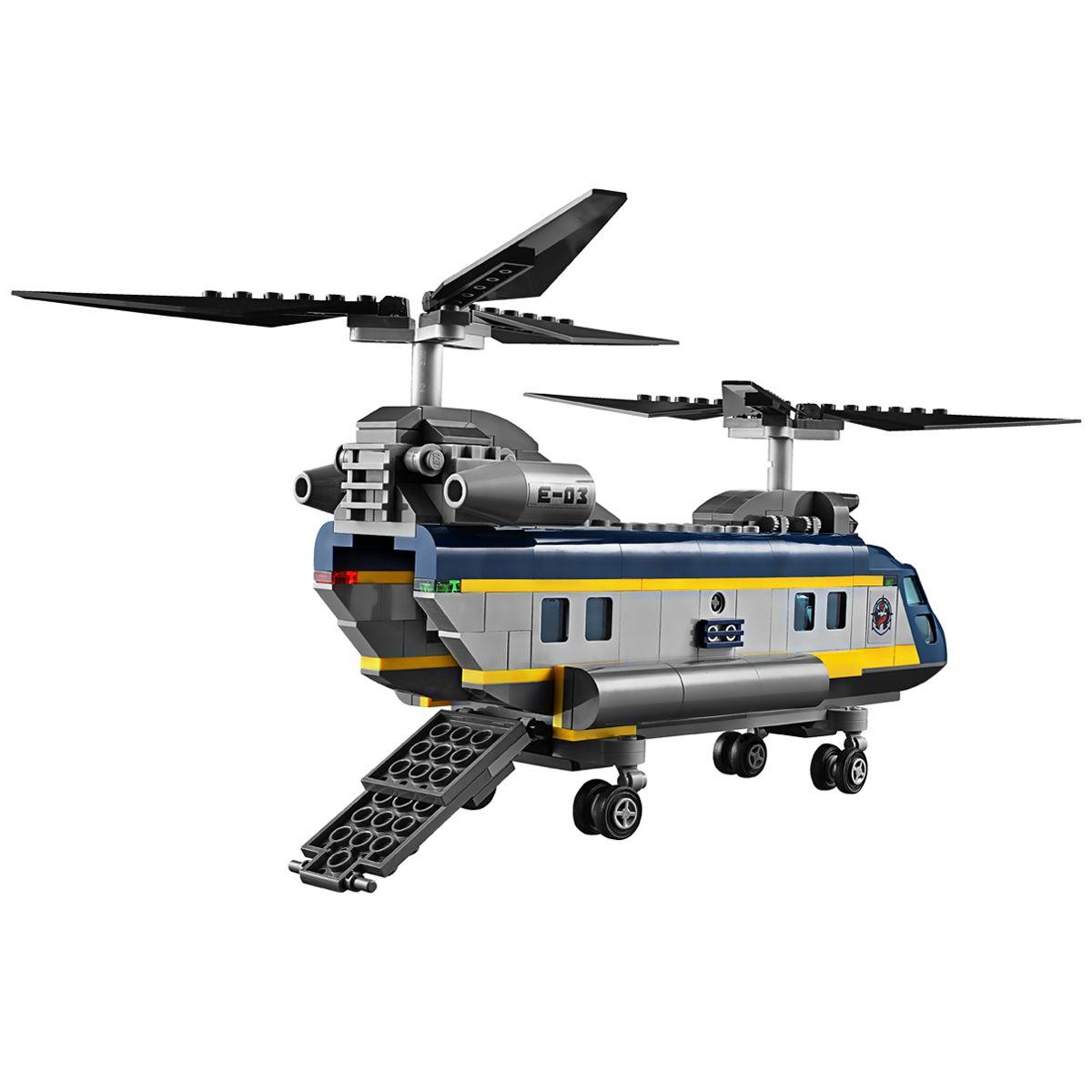 60093 PolicePompiers Lego De Mer Haute City Et L'hélicoptère nwk08OPX