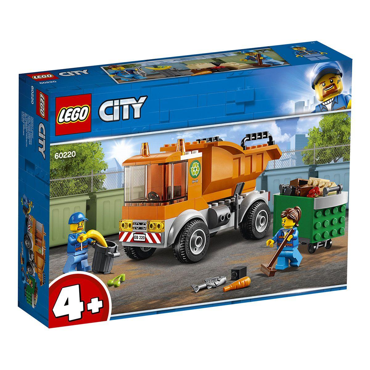 Le La De 60220 Travaux Et Poubelle Lego City Chantier Camion 9DH2IEW