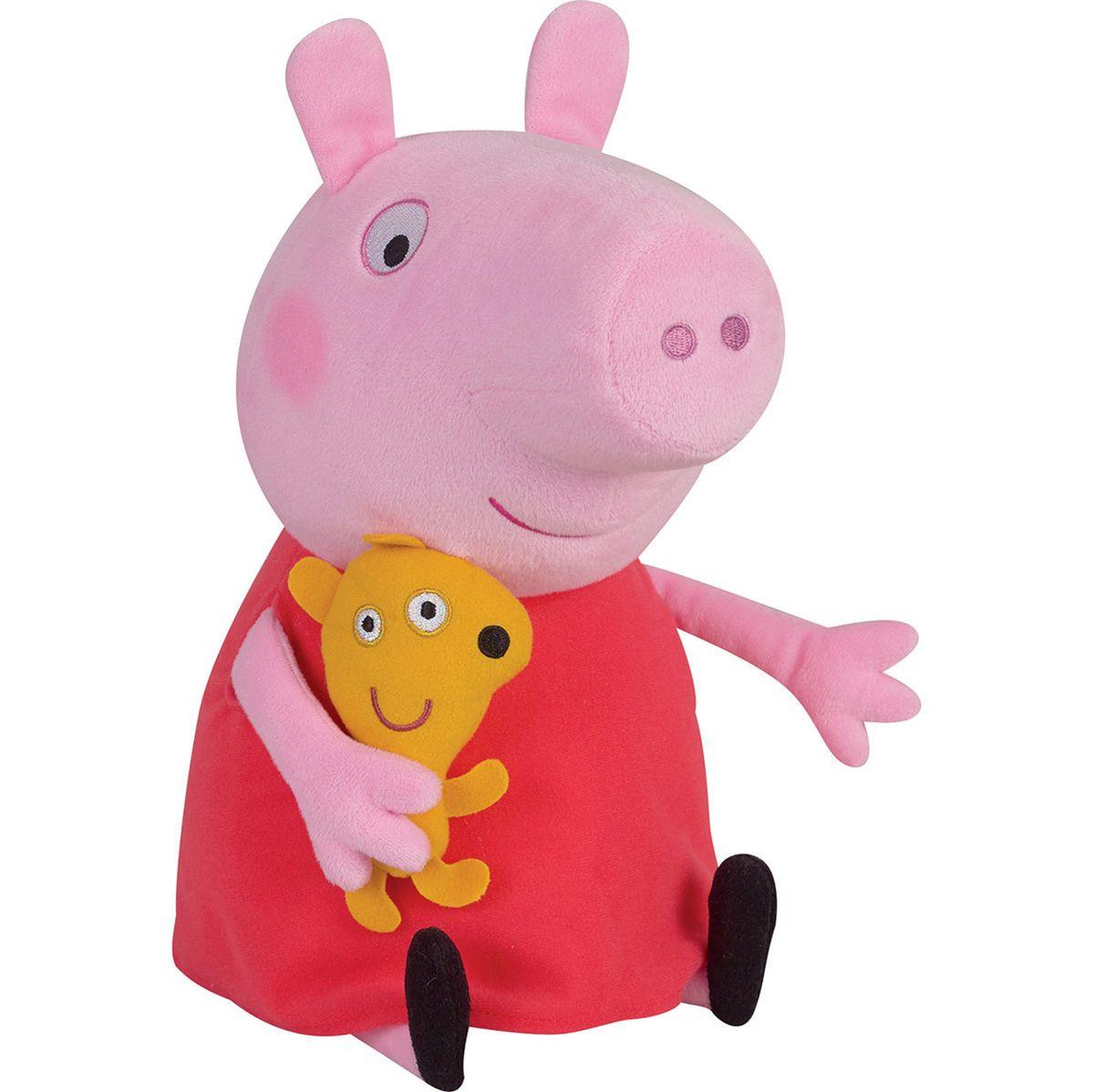 Peluche Peppa Pig Jouets D Eveil Et Peluches La Grande Recre