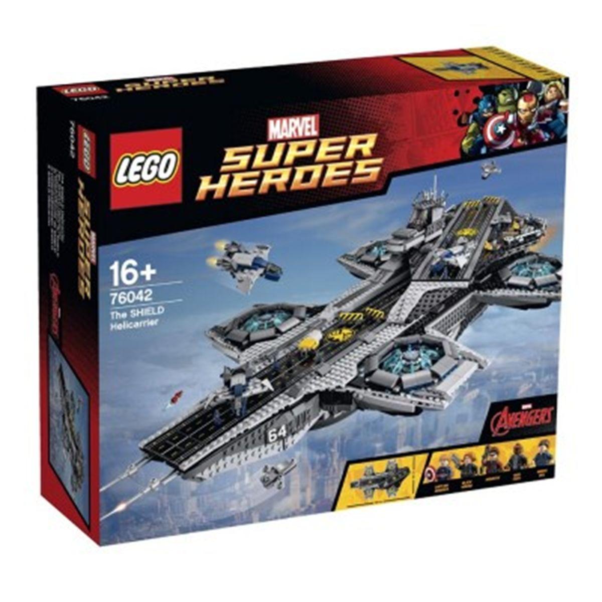 Shield Heroes 76042 Du Avengers L'hélitransport Lego Super Marvel W9EIDHYe2