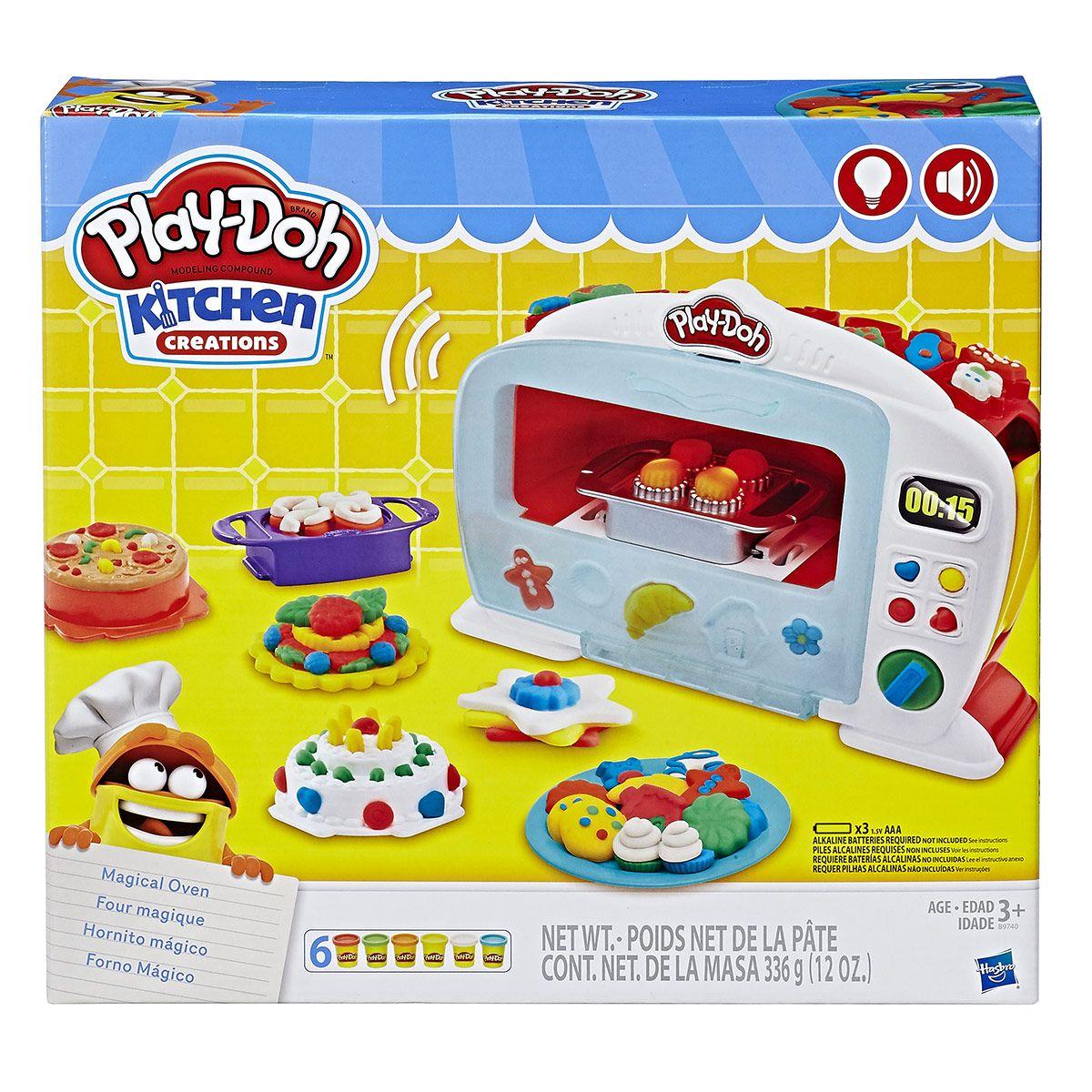 Play-Doh Le Four Magique Pate A Modeler