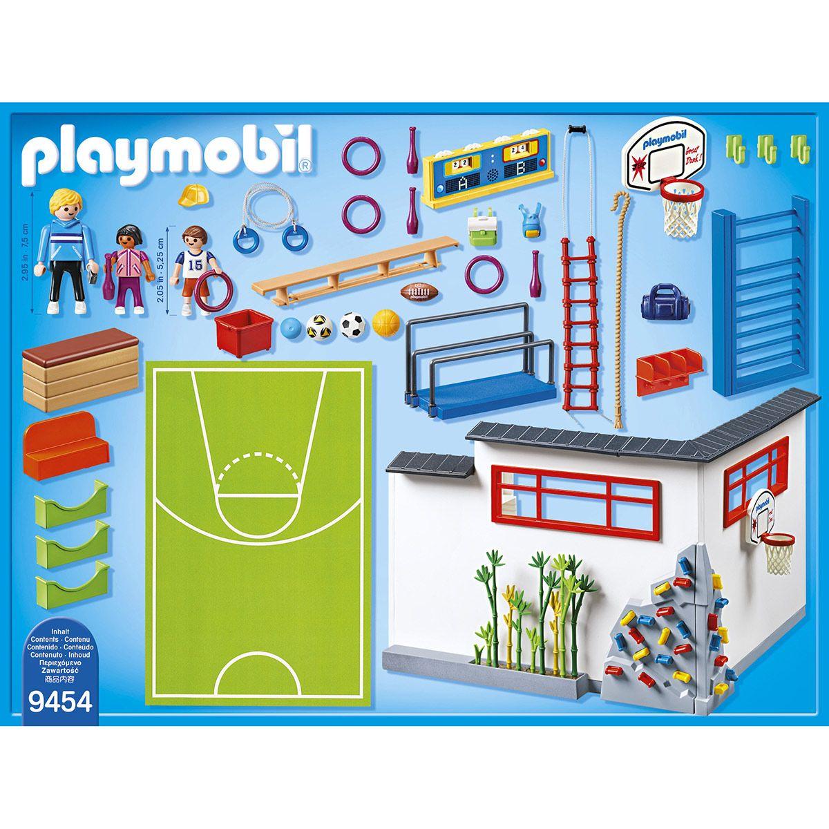 Salle De Sports Playmobil City Life 9454 La Ville La Police Et