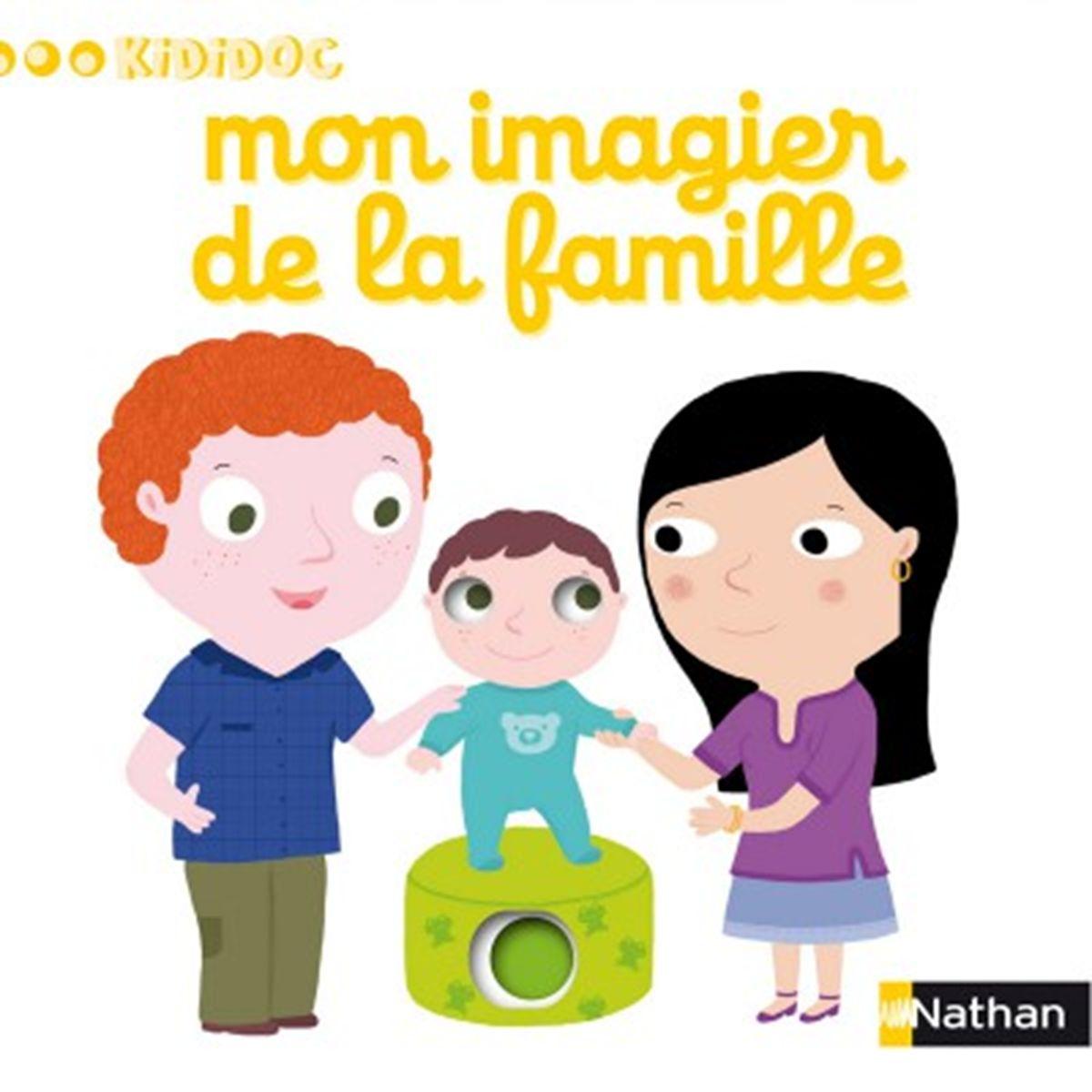 Livre Kididoc Mon Imagier De La Famille Jeux Educatifs