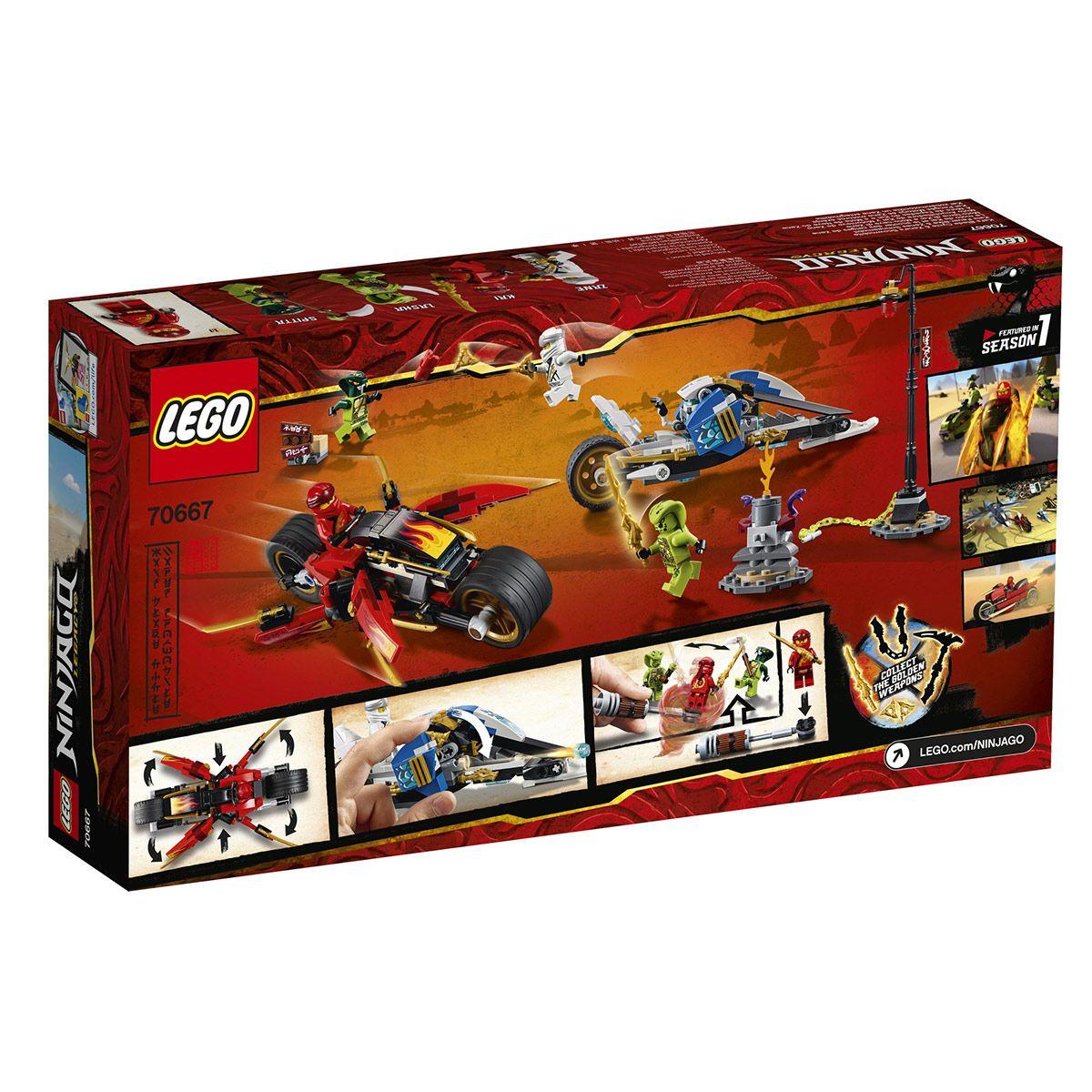 Et Lego De La Moto Kai Neiges Scooter Des Ninjago Le Zane 70667 rxBCoedW