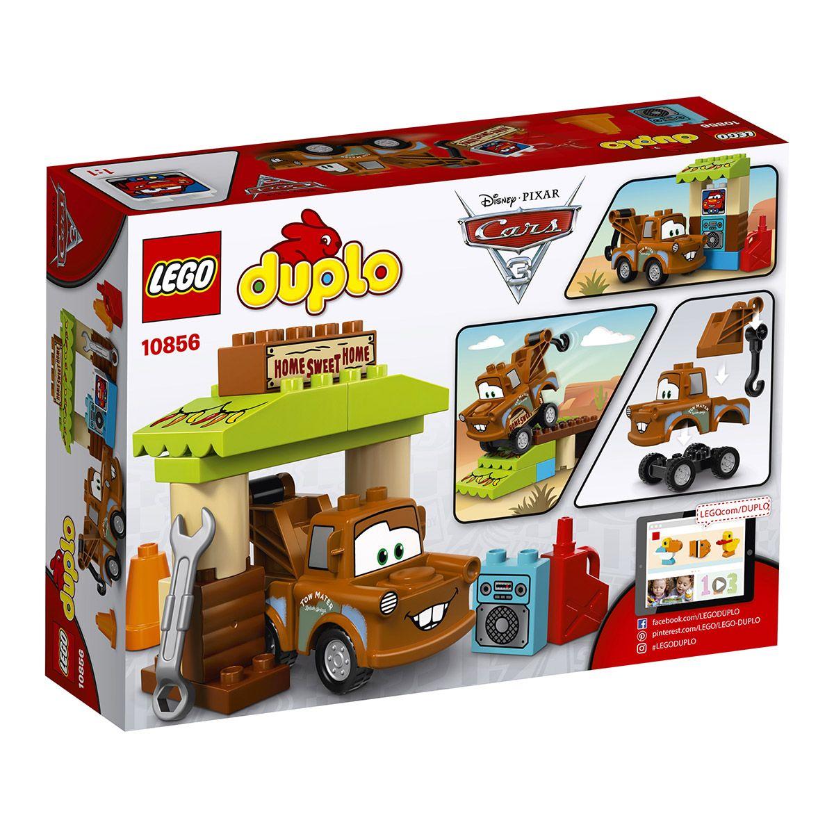 Martin Cars3 La Sport Et Aventures Duplo Lego® De Cabane 10856 Y92HWDEI