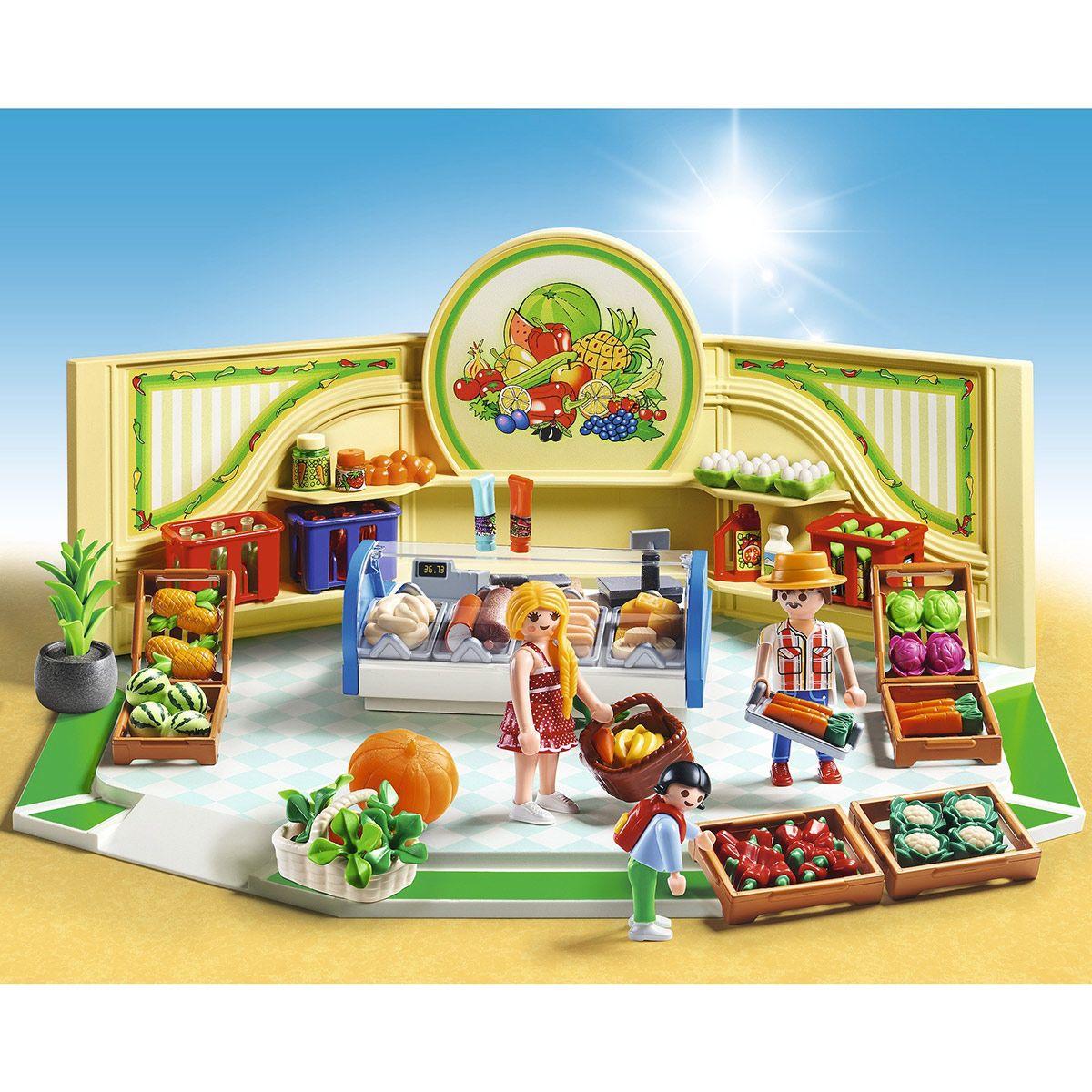 Playmobil 9403–Epicerie