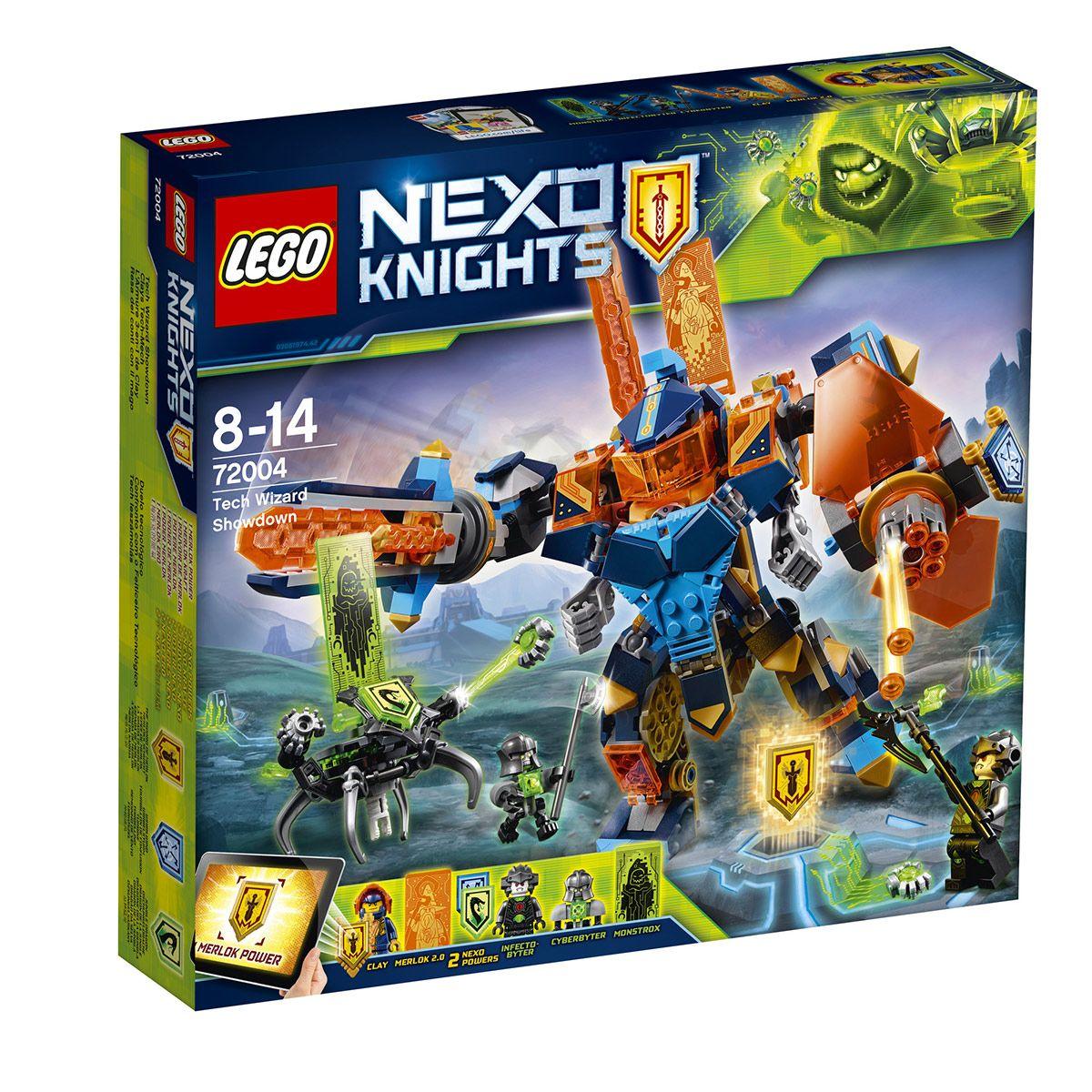 3 1 De L'armure Et Sciences Clay Nexo Lego Robots En 72004 Knights SzMUqVp