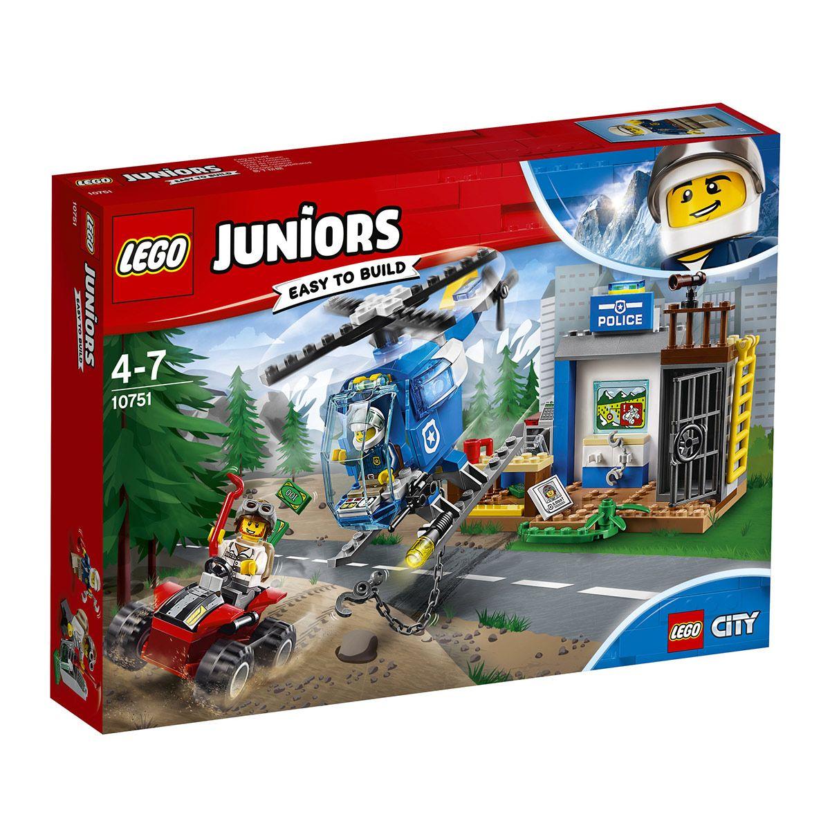 Montagne Lego Juniors 10751 Course Poursuite PolicePompiers Et I6Yfg7yvbm