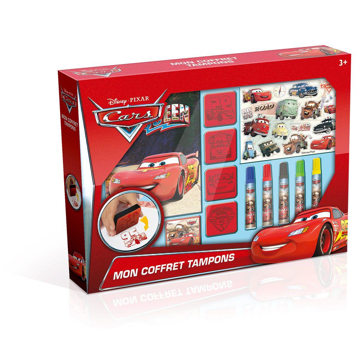 Coffret Cars Jeux De Récré Tampons La Créatifs Grande j4A3R5Lq