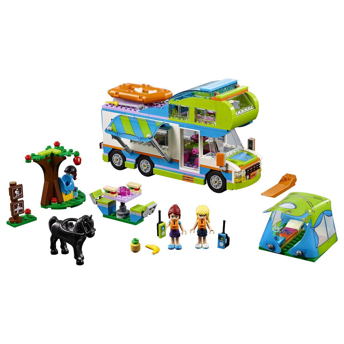 Camping De Et Friends Lego Le Car 41339 Sport La Aventures Mia eEDW29YHI