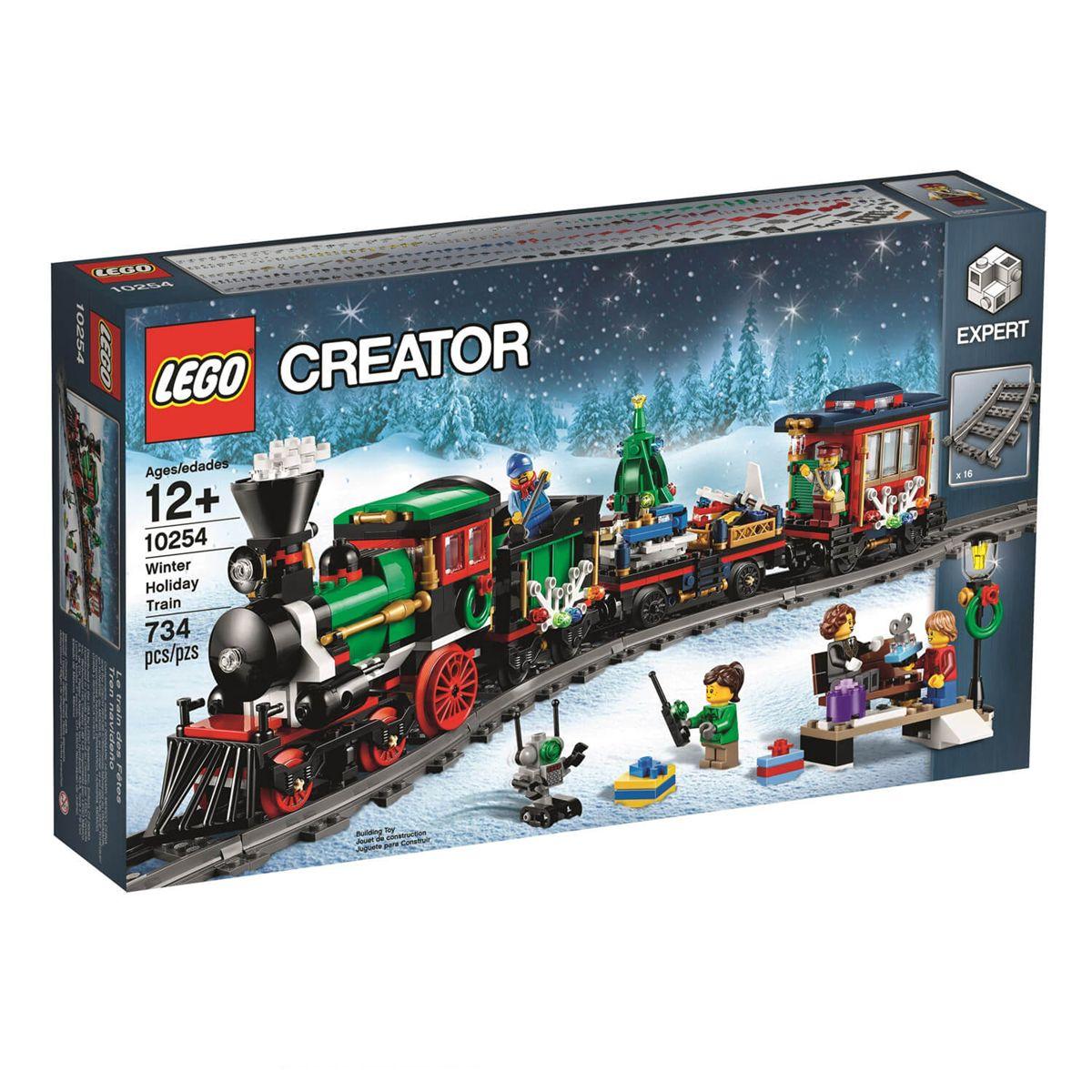 De Lego La Train Creator Jeux Construction Le 10254 Noël hCxsQdtr