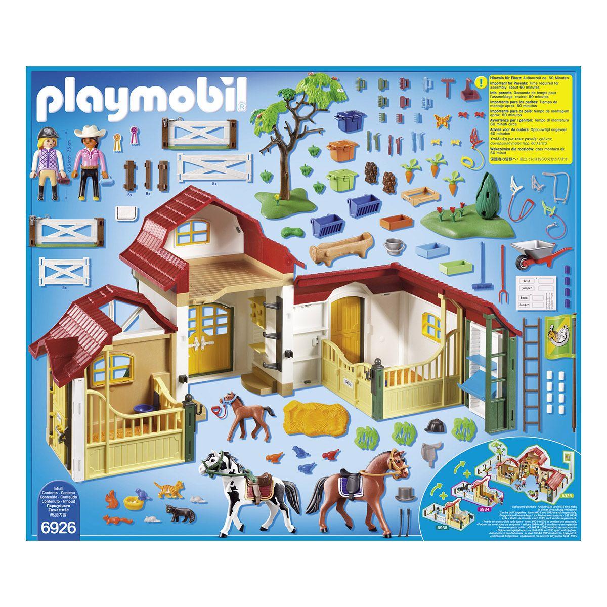 Club D équitation Playmobil Country 6926 Le Sport Les