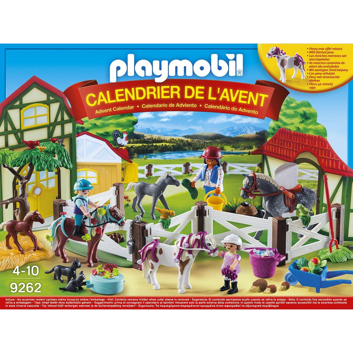 De 9262 Centre Calendrier Playmobil Jeux L'avent Équestre 0PknwO
