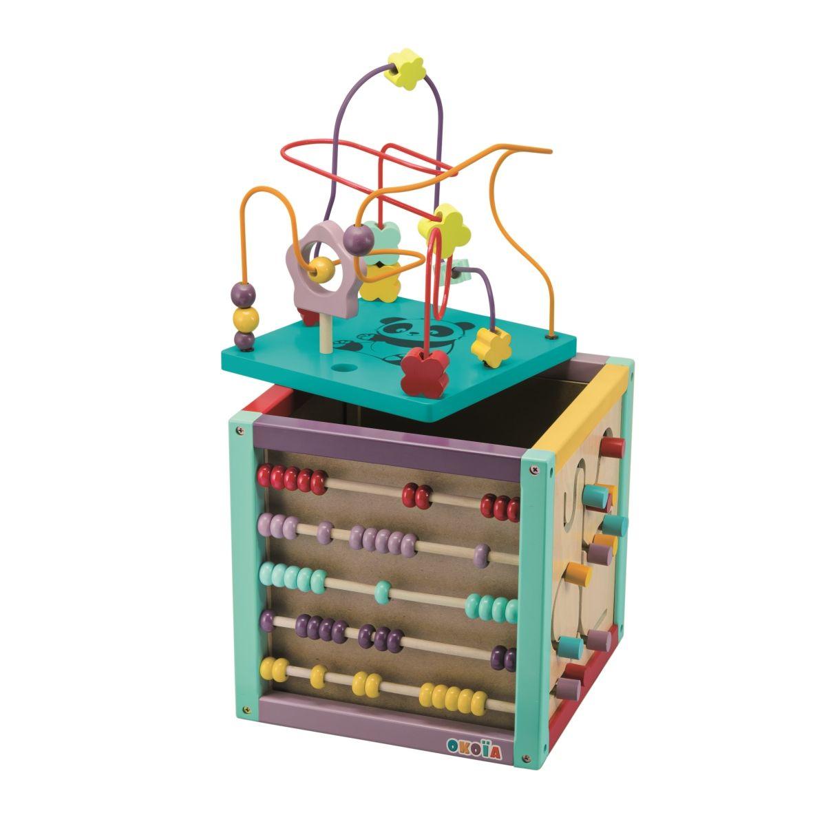 buy popular special section cheap for discount Cube multi-activités Okoïa junior - Jouets d'éveil et ...