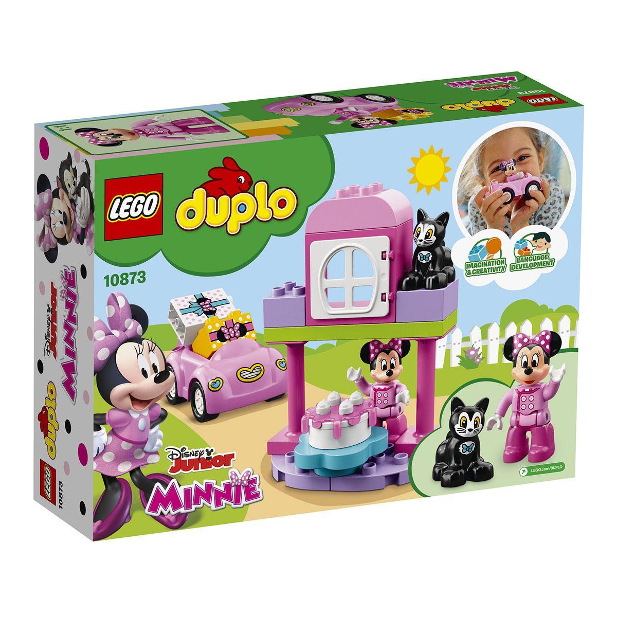 D'anniversaire FermeUnivers Duplo Lego 10873 Fête Minnie LUpVGSzqM