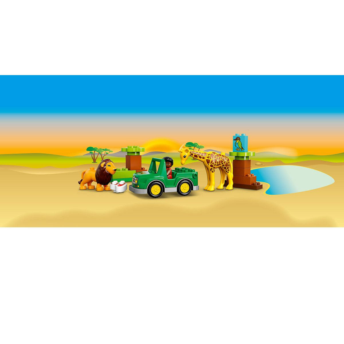 Aventures Lego® De Animaux La Duplo® Sport 10802 Et Les Savane wZlPOuTXki