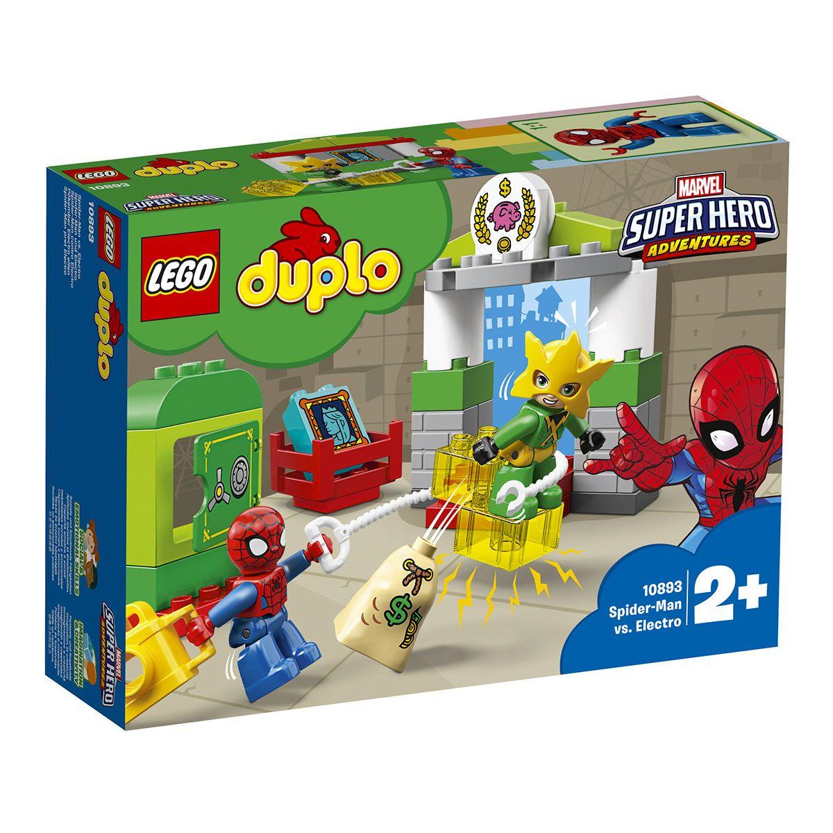 Lego VsElectro 10893 Construction La De Spider Jeux Man Duplo BshxQCtrd