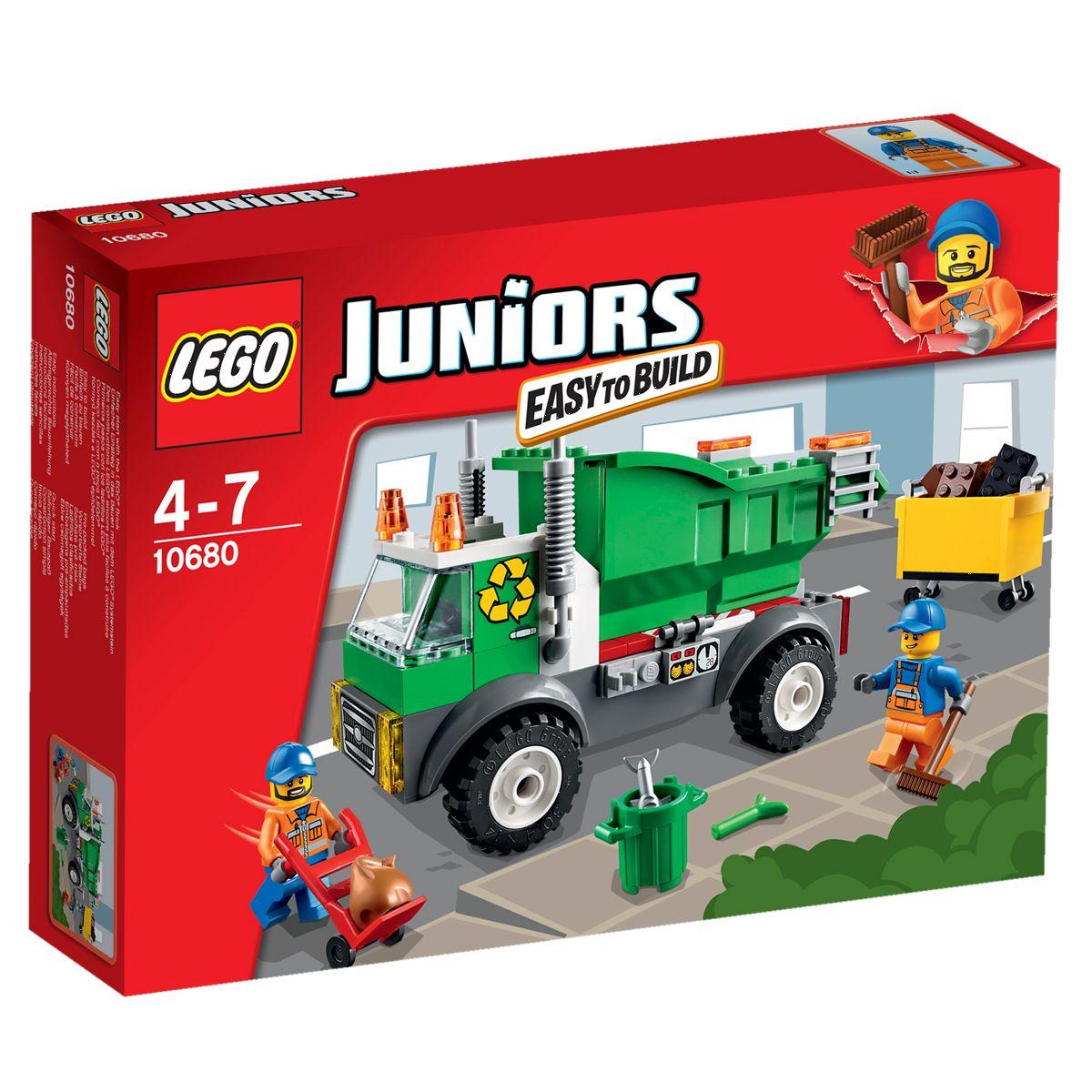 Urbains Le Poubelle Juniors Ville Camion Lego Et Univers 10680 UzVpMS