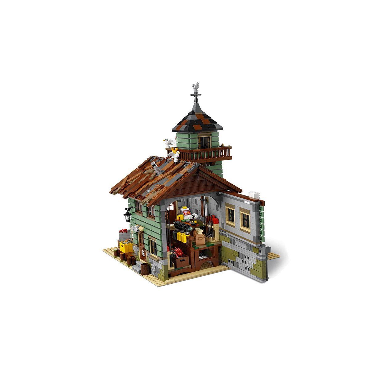 Pêche Lego Jeux De Vieux Le En 21310 Ideas Magasin Construction 0ONnwvmPy8