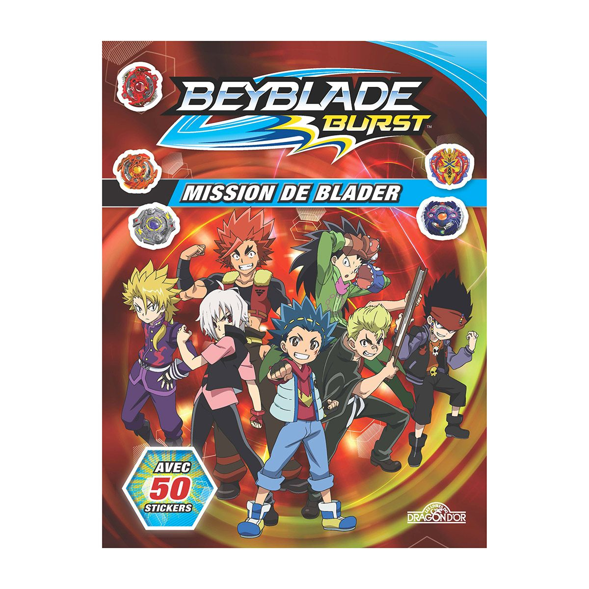 Livre Jeu Beyblade Mission De Blader Jeux Educatifs La