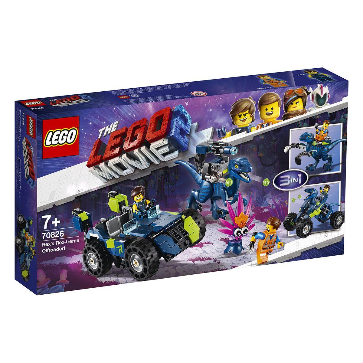 L'espaceThe Tout Terrain Lego Le 70826 Rex De Movie Treme RLAq354j