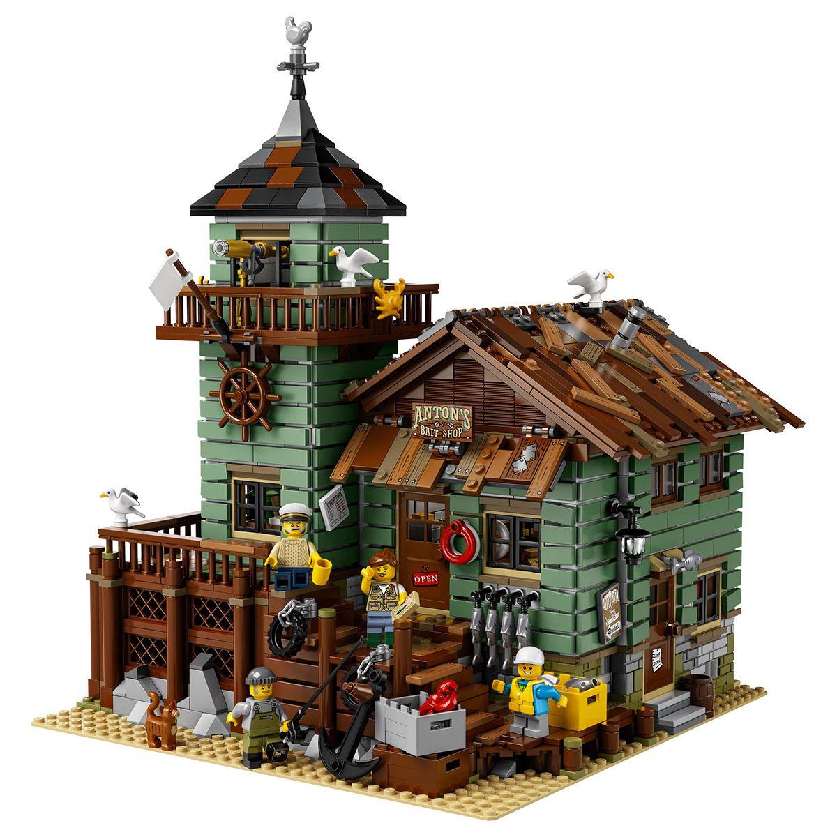 Construction Ideas 21310 Magasin De Pêche Le En Lego Jeux Vieux qMVjzpLSUG