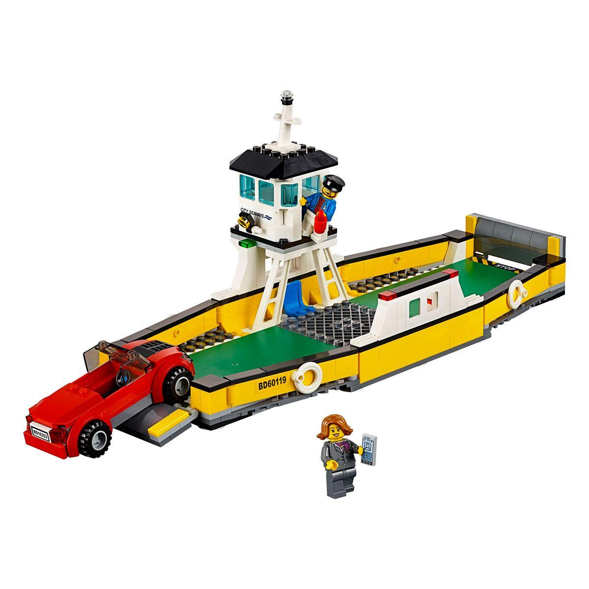 Ville Lego® City Urbains Ferry Grande Récré Et Univers 60119 Le La n0wkOP8