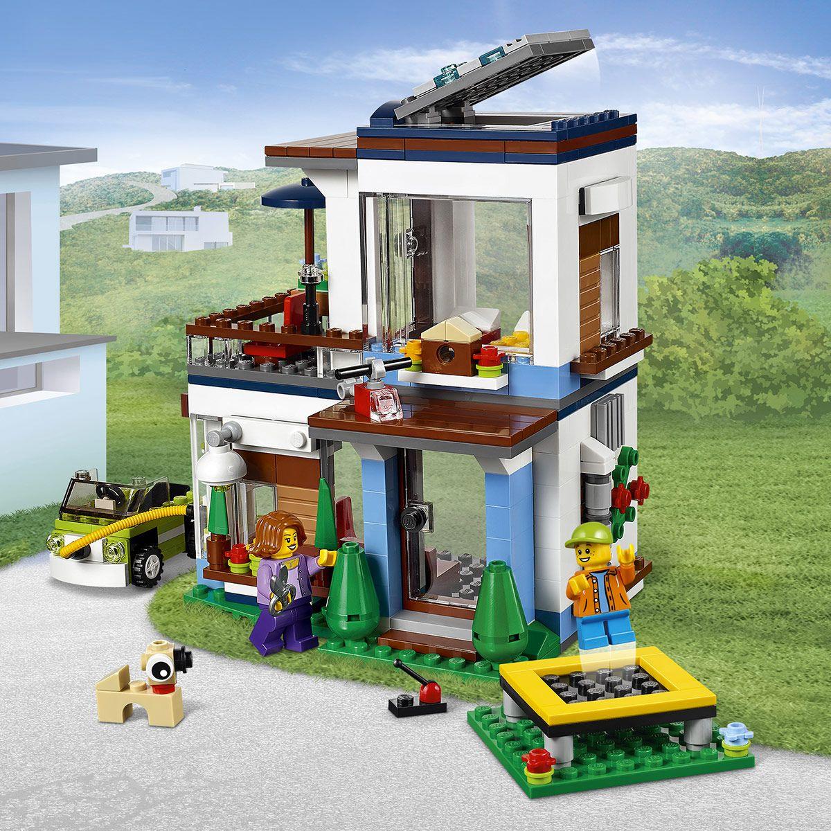 La maison moderne LEGO® Creator 31068 - Ville et univers ...