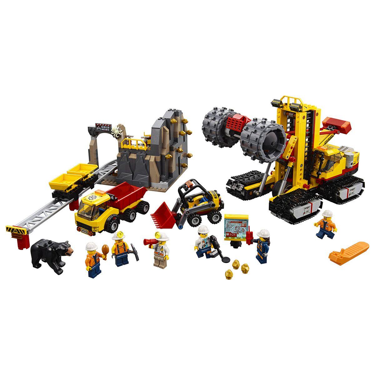 LEGO JEU DE CONSTRUCTION LE SITE D?E 60188 CITY