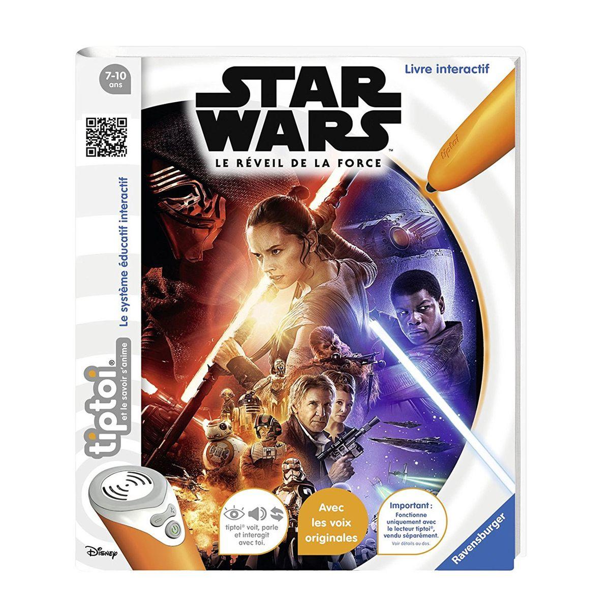 Livre Interactif Tiptoi Star Wars Le Reveil De La Force
