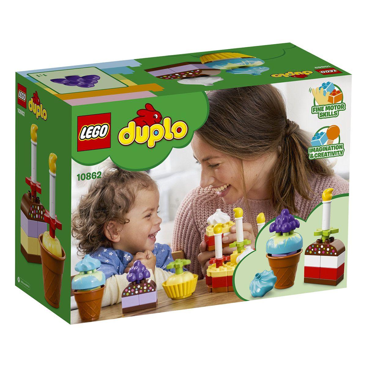 Premiere Fete D Anniversaire Lego Duplo 10862 Jeux De Construction La Grande Recre