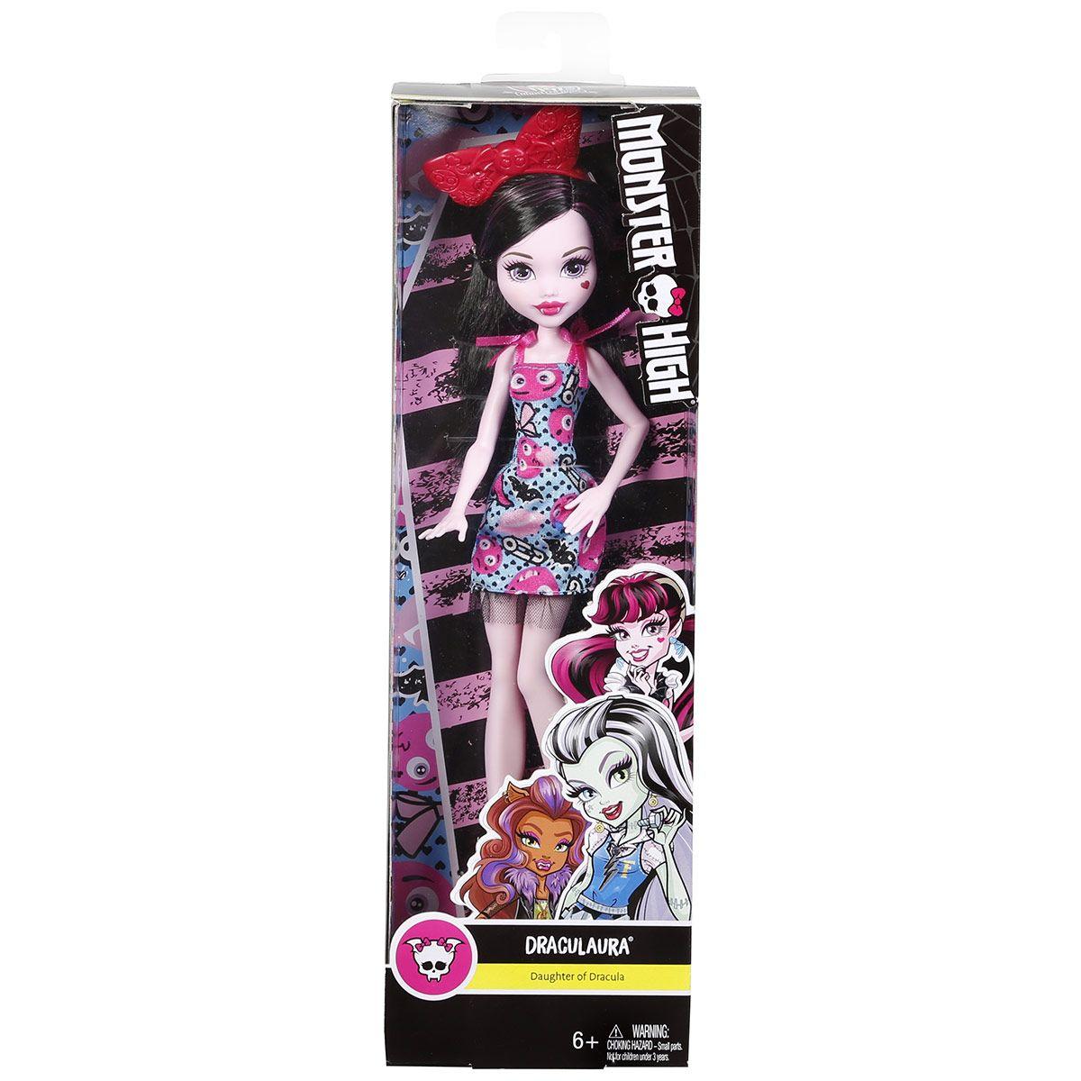 Poupee Monster High Goule Draculaura Vehicules Et Figurines La Grande Recre