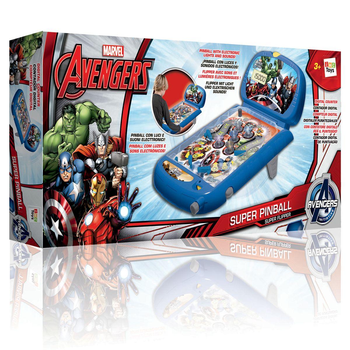 Flipper Avengers Jeux De Societe Et Puzzles La Grande Recre