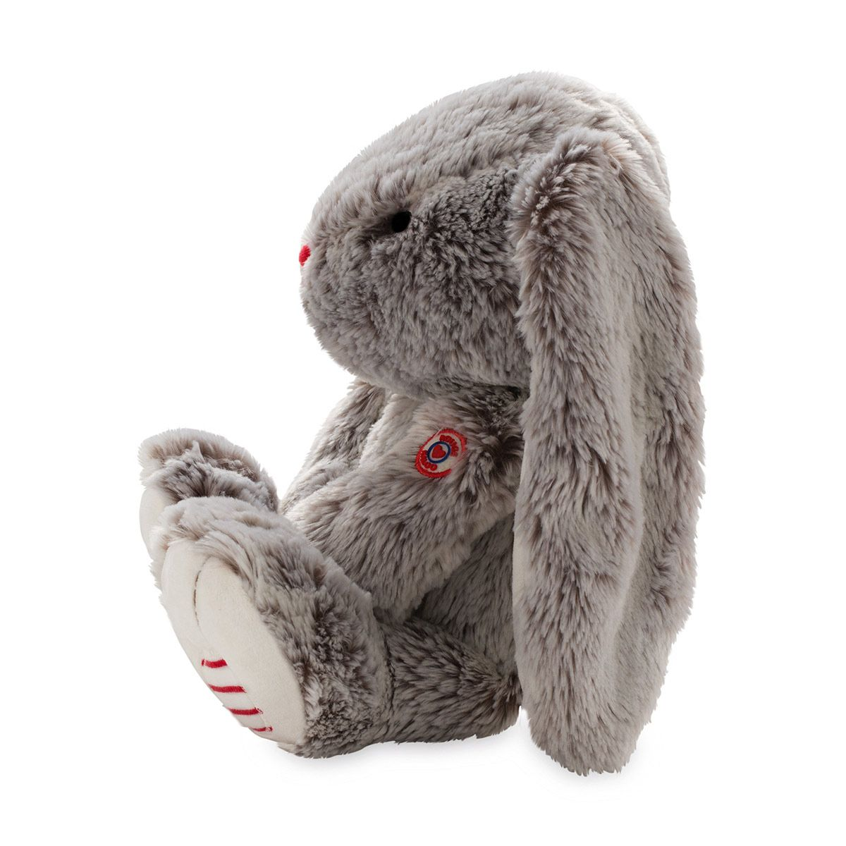 Kaloo Rouge Lapin Peluche Gris Taille Grand