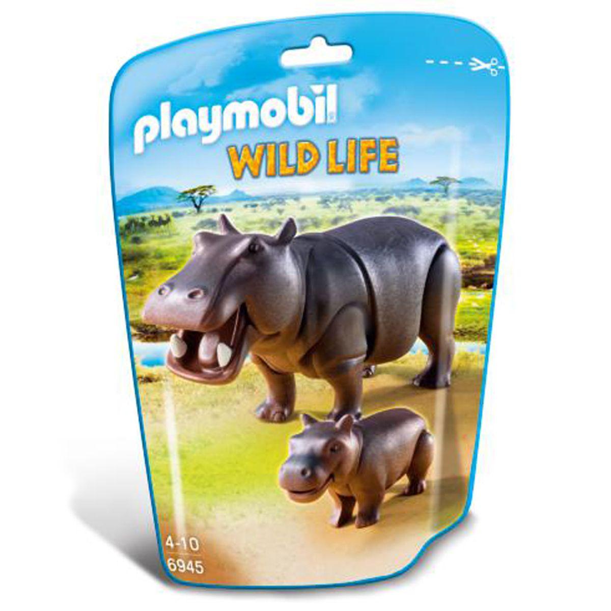 Petit Véhicules 6945 Et Life Wild Hippopotame Playmobil Son 5Tl3uFK1cJ