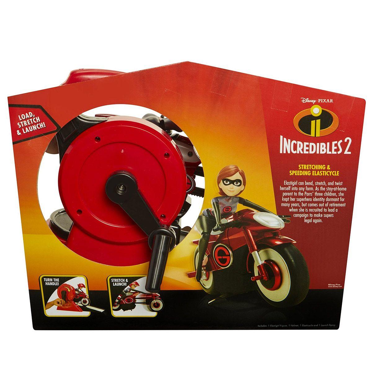 Elastigirl et sa Moto Les Indestructibles