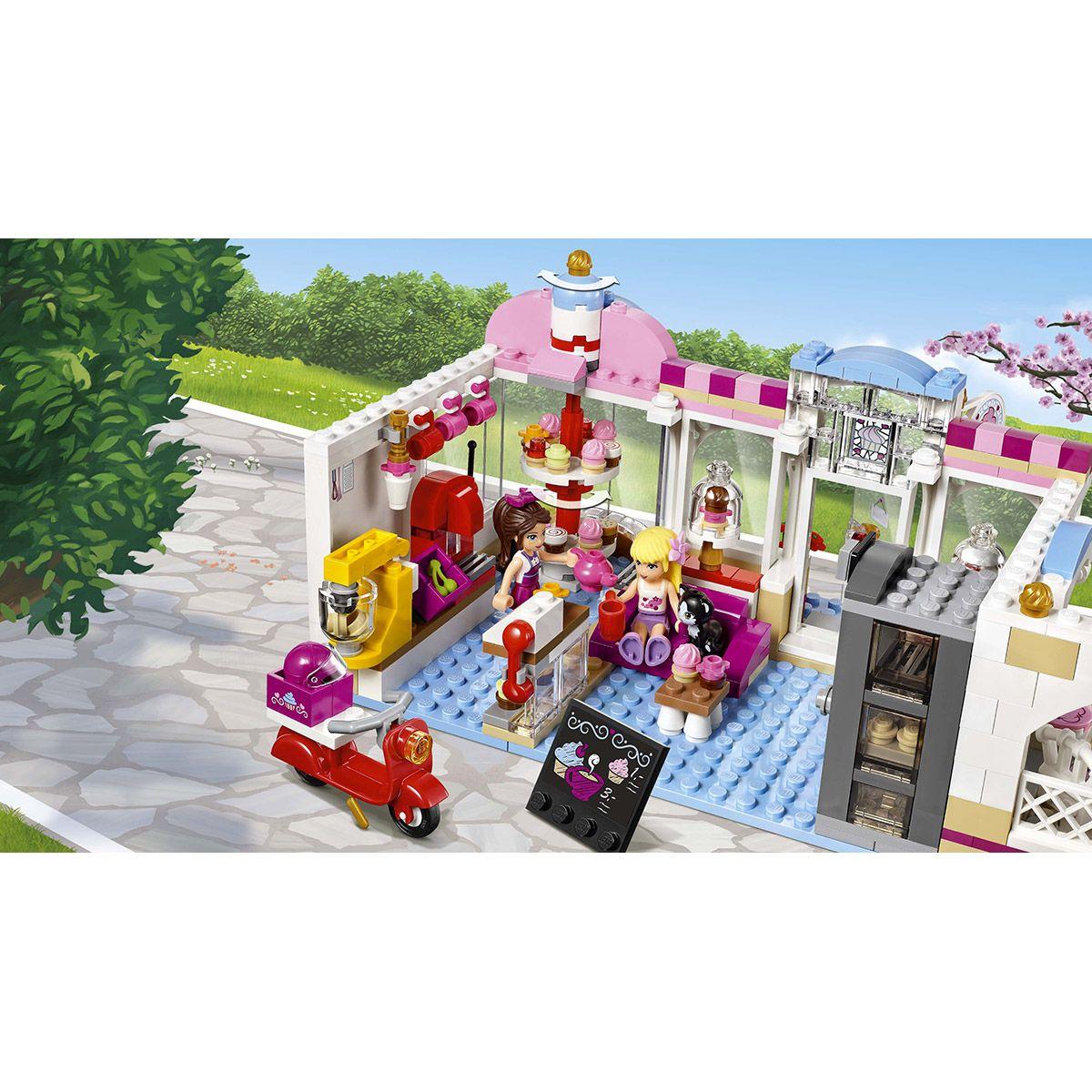 City Et Cupcake Lego® D'heartlake Café Friends 41119 Ville Le KJc3FlT1