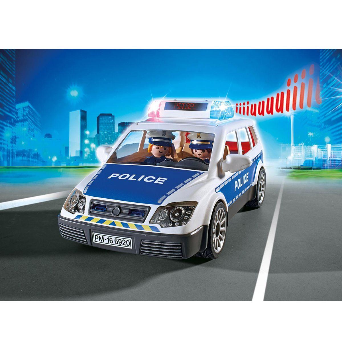 Voiture Gyrophare 6920 Action Policiers Avec De Playmobil City rBCxdeoW